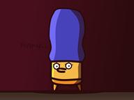 artist:howisthisaname game:enter_the_gungeon marge_simpson streamer:vinny vinesauce // 800x600 // 341.2KB