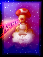 artist:leghair infernal_noises lakitoad lakitu streamer:vinny super_mario_bros_3 toad // 768x1024 // 948.5KB