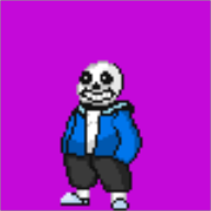 artist:backburner26 game:pokemon game:undertale sans streamer:joel // 80x80 // 1.0KB