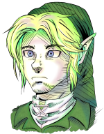 artist:pixelateddude link ocarina_of_time streamer:vinny // 865x1100 // 1.1MB