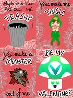 artist:stellabella game:monster_hunter_world game:ripened_tingle's_balloon_trip_of_love streamer:vinny valentine valentines_day // 600x800 // 582.3KB