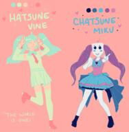 artist:shinyfesta chatsune_miku color_palette_challenge hatsune_miku streamer:joel streamer:vinny vinesauce_is_hope_2020 // 1848x1890 // 1009.7KB