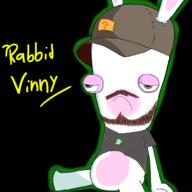 artist:Dannehboi game:mario_+_rabbids_kingdom_battle rabbid_vinny rabbids streamer:vinny // 2000x2000 // 1.1MB