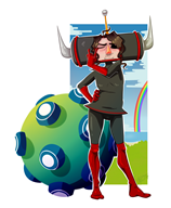 artist:adilendian game:katamari_damacy streamer:joel // 1966x2382 // 1.3MB