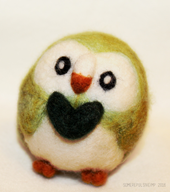 artist:somerepulsiveimp bird game:pokemon game:pokemon_sun_and_moon needle_felted rowlet streamer:vinny // 1229x1382 // 353.2KB