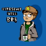 artist:zacc be_right_back binyot brb mug streamer:vinny vineshroom // 900x900 // 201.0KB
