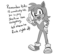 artist:undeadchickennugget game:shadow_the_hedgehog sonic streamer:joel // 962x889 // 219.9KB