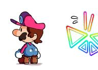 artist:BrokenSketch game:super_paper_mario streamer:vinny // 1109x797 // 194.9KB