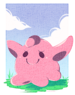 ditto pokemon streamer:joel // 390x491 // 239.2KB