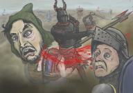 artist:musheroni game:chivalry streamer:vinny // 2500x1767 // 762.2KB