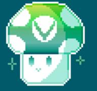 animated artist:ttaro pixel_art streamer:vinny vinesauce vineshroom // 100x100 // 9.0KB