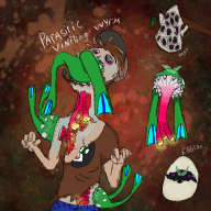 artist:nerobe colorful creature creepy gross monster mushroom streamer:vinny vinesauce weird // 1000x1000 // 1.1MB
