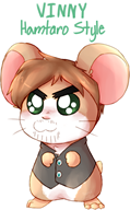 artist:lottafandoms hamtaro streamer:vinny vinesauce // 926x1489 // 750.0KB