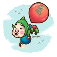animated brb game:freshly-picked_tingle's_rosy_rupeeland stream tingle // 500x500 // 182.0KB