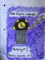 artist:barbabun battery batteryshroom markers streamer:vinny traditional vineshroom // 750x1000 // 153.8KB