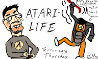 artist:h_hog gordon_freeman half-life streamer:joel // 800x480 // 67.4KB