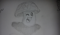 artist:kendulun-the-kihoryu sketch vinesauce vineshroom // 1280x768 // 283.8KB