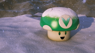 3d artist:ahugepancake render snow themed vineshroom // 1920x1080 // 2.9MB