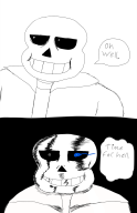 artist:nevu_jolkime bad_time determination game:undertale sans streamer:joel // 1300x2000 // 401.1KB