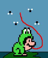 animated artist:toadscoper frog game:super_mario_bros_3 luigi pixel_art speed_luigi streamer:vinny // 900x1080 // 87.7KB