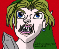 artist:skeliton1 game:the_legend_of_zelda:_ocarina_of_time legend_of_zelda link zelda // 432x360 // 188.2KB