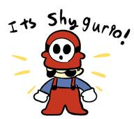 artist:shnubs corruptions game:super_mario_bros_2 shy_guy streamer:vinny // 1145x1021 // 251.4KB