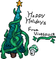 artist:travis green holidays sprite vinesauce vineshroom // 220x232 // 7.2KB