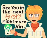 artist:Blurzapper game:silent_hill_3 heather mug pixel_art streamer:vinny vineshroom // 2080x1690 // 144.5KB