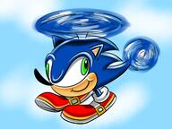 Game:Sonic_Adventure_2 artist:fenixseraph corruptions helicopter sonic streamer:vinny // 1200x900 // 870.1KB