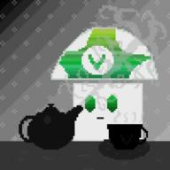 artist:Gamemakerglenn pixel_art streamer:vinny vineshroom // 700x700 // 28.3KB