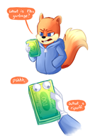 artist:LogicalLoony game:conker's_bad_fur_day money streamer:vinny // 702x1000 // 268.3KB