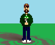 3d artist:captain_punch streamer:vinny vinesauce voxel // 960x800 // 168.4KB