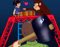 artist:hamsterboygenius donkey_kong game:donkey_kong game:tomodachi_life streamer:vinny two_faced // 1280x1024 // 578.1KB
