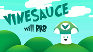animated artist:troubles brb vinesauce vineshroom // 960x540 // 2.4MB