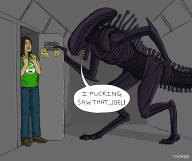 alien artist:thecake64 game:alien_isolation streamer:joel vineswole // 2000x1680 // 861.1KB