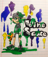 artist:kurikurimix game:splatoon streamer:vinny vinesauce // 1085x1280 // 527.2KB