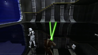 animated_gif artist:reckless_james game:star_wars_jedi_academy lightsaber star_wars streamer:vinny vineshroom // 500x281 // 7.5MB