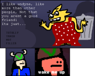 alphys artist:snitchen date dress game:undertale rejection streamer:joel trash // 425x345 // 11.0KB