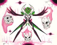 artist:MrZash game:pokemon gardevoir skull streamer:joel traditional // 1225x965 // 1.5MB