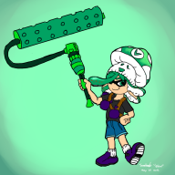artist:bfox game:splatoon streamer:vinny // 1000x1000 // 378.1KB