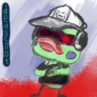 artist:lanky_lil_psychics dedf1sh game:splatoon_2 scoot streamer:vinny // 300x300 // 134.9KB