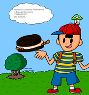 artist:roboribs game:earthbound ness oreos streamer:vinny vineshroom // 1800x1900 // 98.0KB