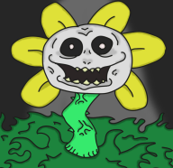 artist:zeoxdragon flowey game:undertale streamer:joel // 906x881 // 87.2KB