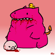 artist:fii blood chimeracorp fat game:mother_3 vinechat // 512x512 // 37.0KB