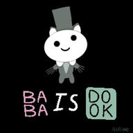 artist:Indy_Film_Productions baba babadook game:baba_is_you streamer:vinny // 1920x1920 // 229.2KB