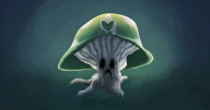 artist:sprouteeh spooky vineshroom // 2126x1125 // 1.3MB