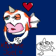 artist:capn game:pokedraw goldeen pokemon streamer:joel // 400x400 // 112.9KB