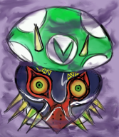 artist:regicidehotline game:majora's_mask streamer:vinny // 411x470 // 471.7KB