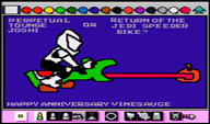 artist:little7om corruptions game:mario_paint game:super_mario_world star_wars streamer:vinny // 1124x664 // 1.5MB