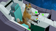 artist:dog_shaped_robot_buddy game:star_fox_zero streamer:vinny // 1814x996 // 504.5KB